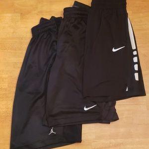 Men's Nike and Jordan Basketball Shorts